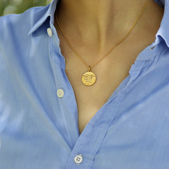 18k gold round trace chain