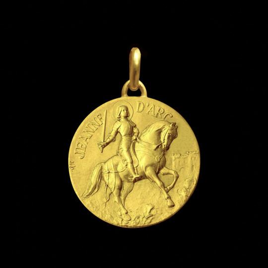 Joan of Arc medallion
