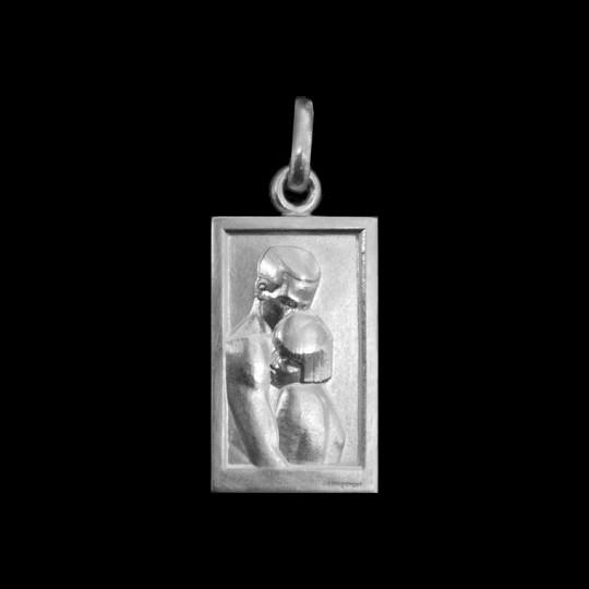 silver medallion