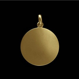 disc charm gold