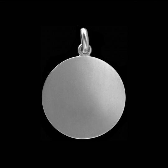 silver coin disc