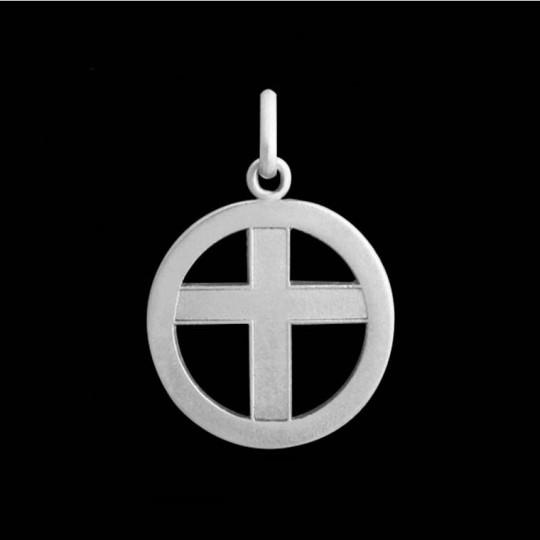Cross medal 1 (openwork design)