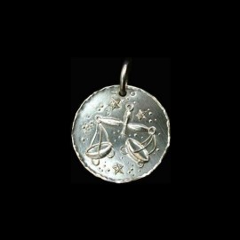 zodiac sign in silver