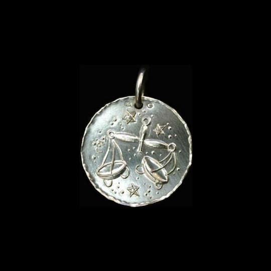 zodiac sign in silver