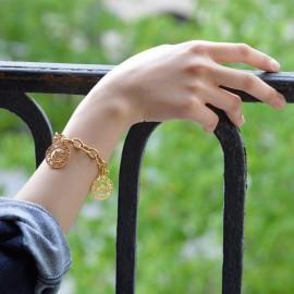 Round mesh bracelet 2 mm