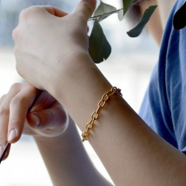 Round mesh bracelet 1,5 mm