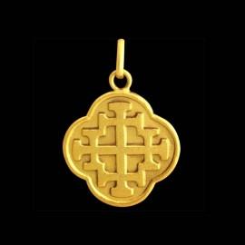 Quadrifoil Jerusalem Cross 1