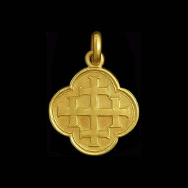 Quadrifoil Cross of Jerusalem 2