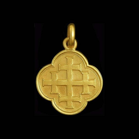 Quadrifoil Cross of Jerusalem 1