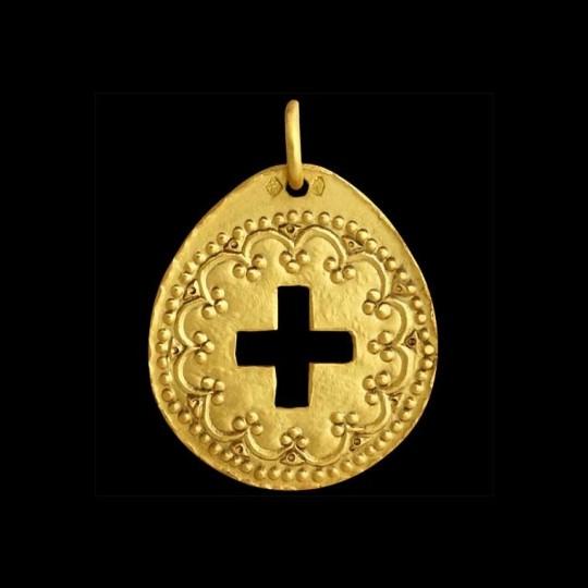 Renaissance Cross (openwork design)