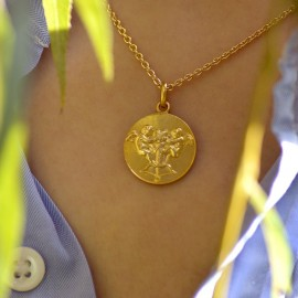 Gold chain n°2 for Ø 17-19mm