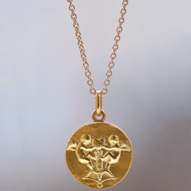 Solid 18k Gold trace chain n°3