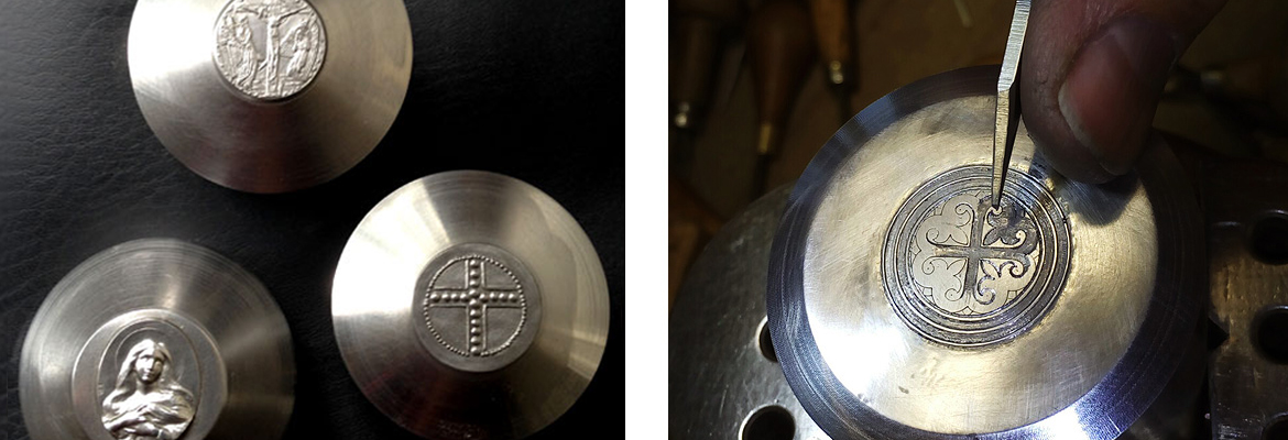 Hallmarks produced in our workshop |  Hallmarking medals